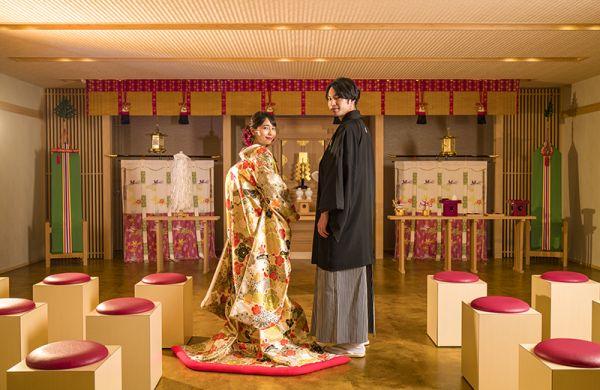 【館内での神前式も叶う】神社間送迎付!コース試食×和婚フェア